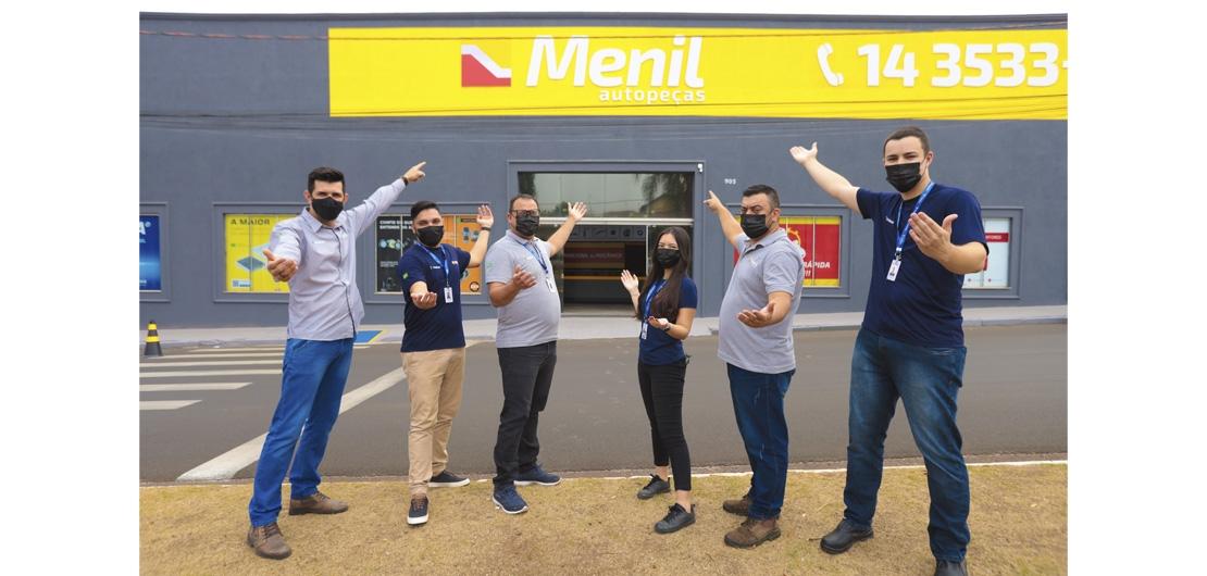 Mais uma filial Inaugurada: Menil Lins