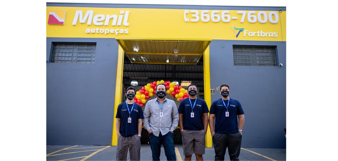 Mais uma filial inaugurada: Menil Mococa